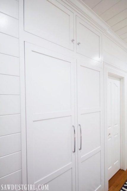 Built in tiny closet