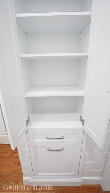 Built In Linen Cabinet Sawdust Girl 174