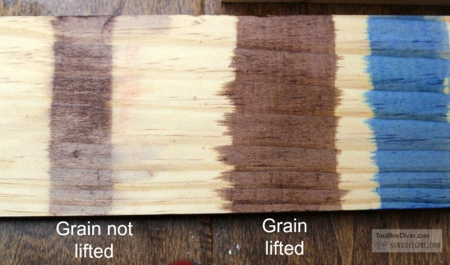 comparing wood dyes