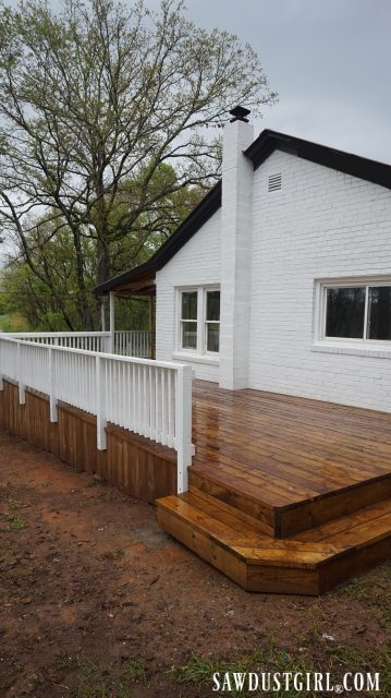 Calderwood Cottage deck