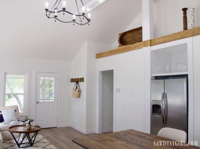 Calderwood Cottage living room