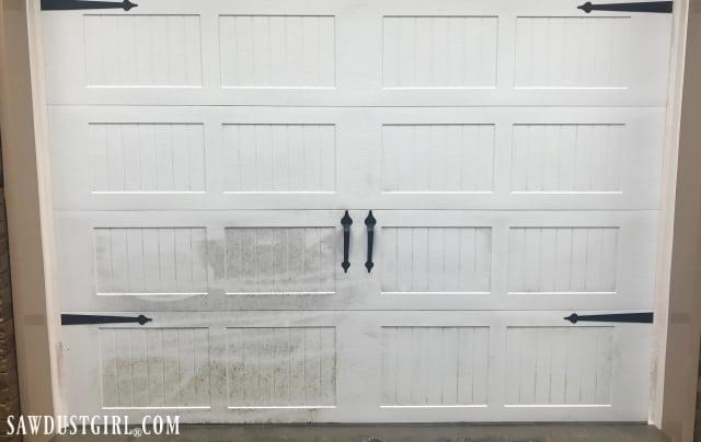 How to Clean a Garage Door and White Rubber Weather ... Garage Door Wiring Schematic Way Ro on