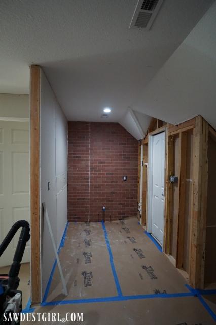 brick panel wall