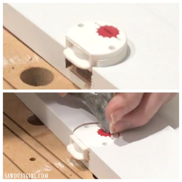 Adjustments on sliding cabinet door glides