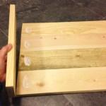 Easy Diy Wood Serving Tray Farmhouse Style Sawdust Sisters
