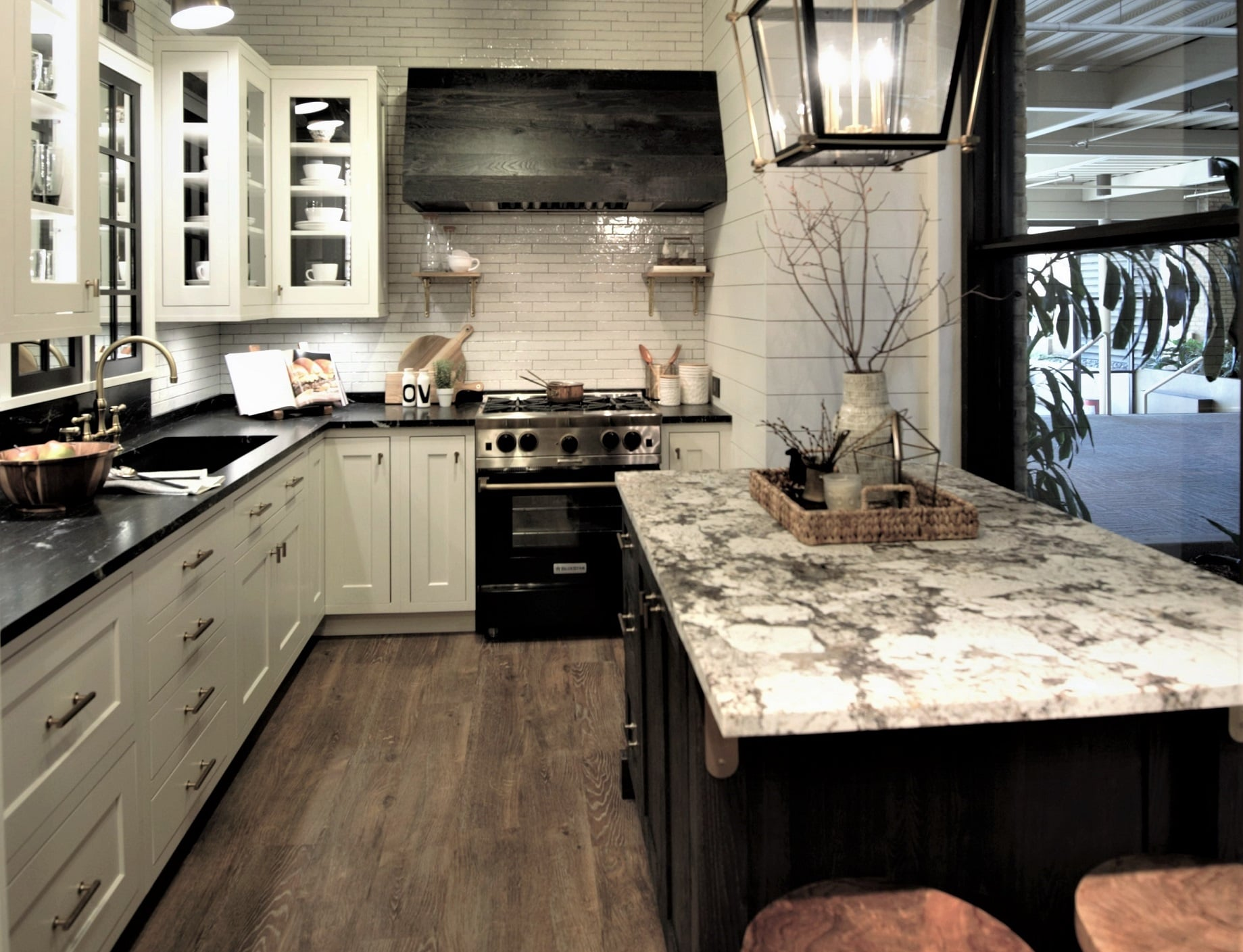 Kitchen Showroom: Modern Farmhouse with a Rustic Twist ... on Rustic Farmhouse Kitchen  id=72086