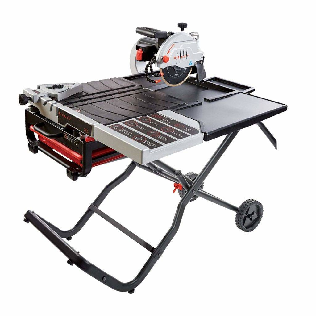 lackmond beast 7 inch wet tile saw review