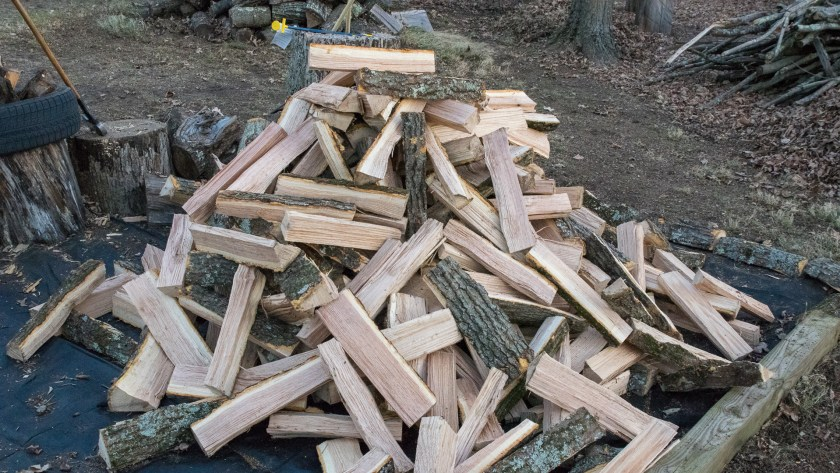 Fresh Split Oak Firewood