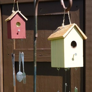 DIY Birdhouse Wind Chimes