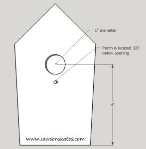 How to Make a DIY Birdhouse Address Plaque step 3 sos