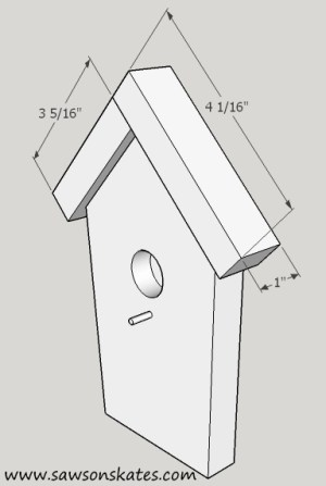 How to Make a DIY Birdhouse Address Plaque step 4 sos