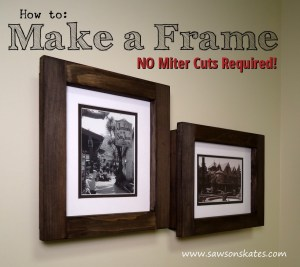 How to Video: Make No Miter Cut Picture Frame