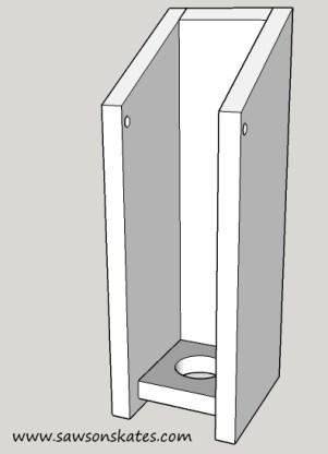 Birdhouse Poop Bag Dispenser 4