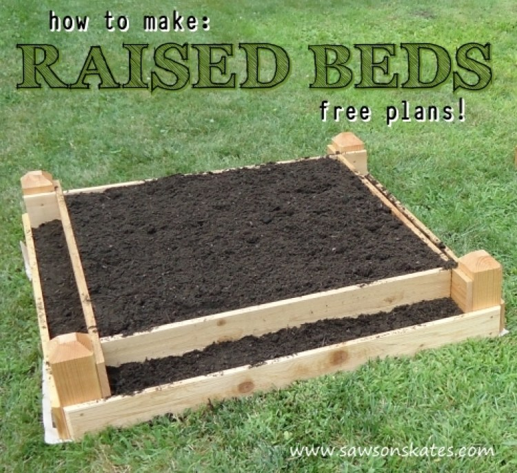 make to legs id how on a raised bed garden