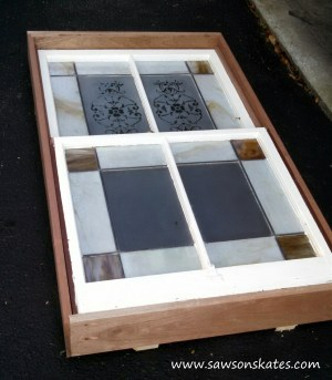 bathroom window frame sos