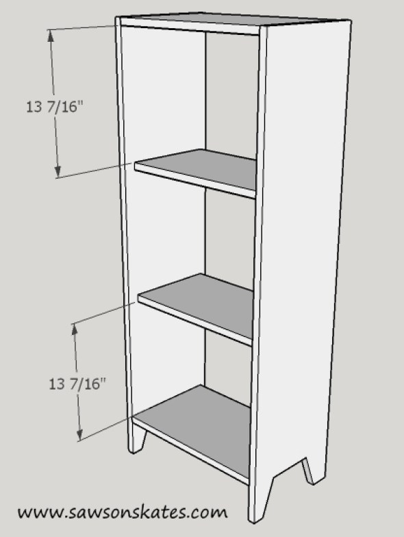 Jelly Cabinet shelf spacing