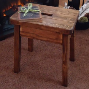 DIY Knock Off Plow & Hearth Stool