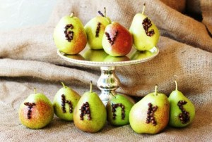 give thanks pears
