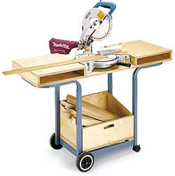Merveilleux Great Roundup Of 6 Space Saving DIY Miter Saw Stands That Would Be Perfect  For