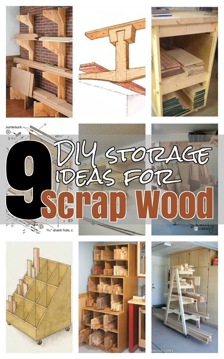 Charmant 9 Diy Storage Ideas For Scrap Wood