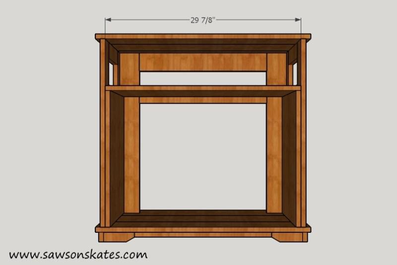 Fireplace Shelf