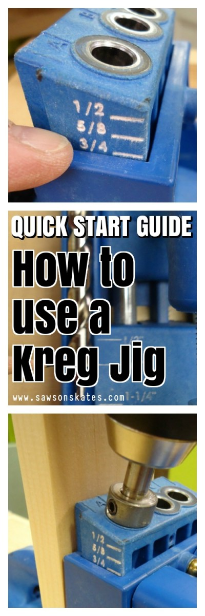 Here's everything you ever you wanted to know about the Kreg Jig! From how to use it to pocket hole tips. From using it for projects to building DIY furniture plans. This tutorial has all!