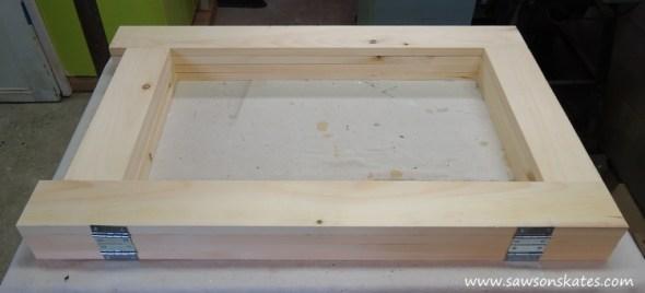 folding workbench hinge assembly 2
