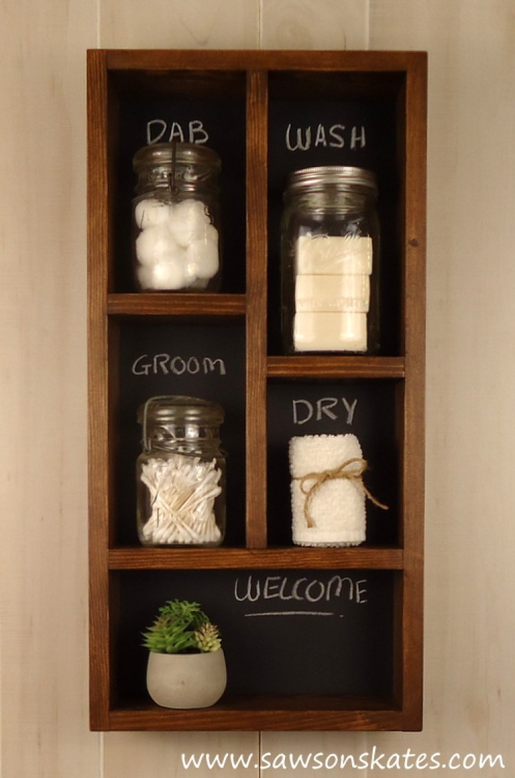 DIY Chalkboard Shadowbox 5