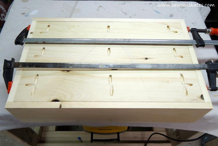 diy dog bed drawer assembly 4