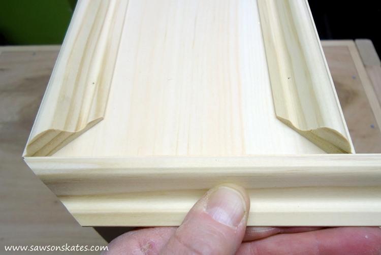 diy dog bed molding