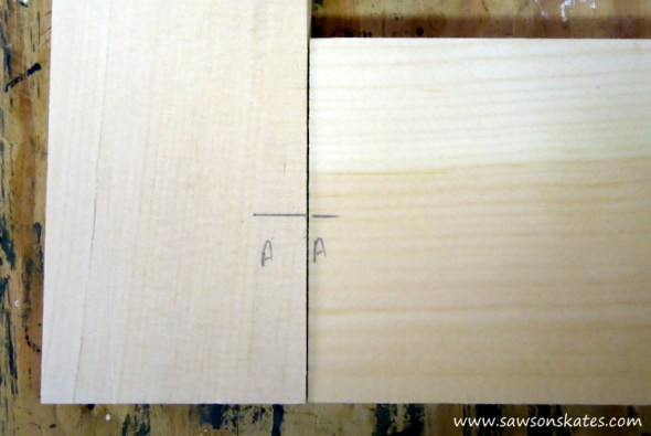 diy wood window transfer marks to stiles