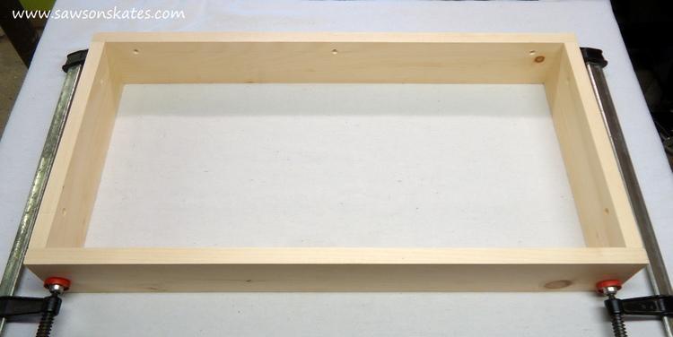 diy fliptop workbench cart storage tray 5