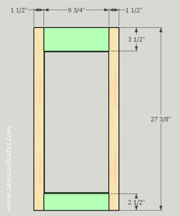 diy-kitty-litter-cabinet-side-sub-frame