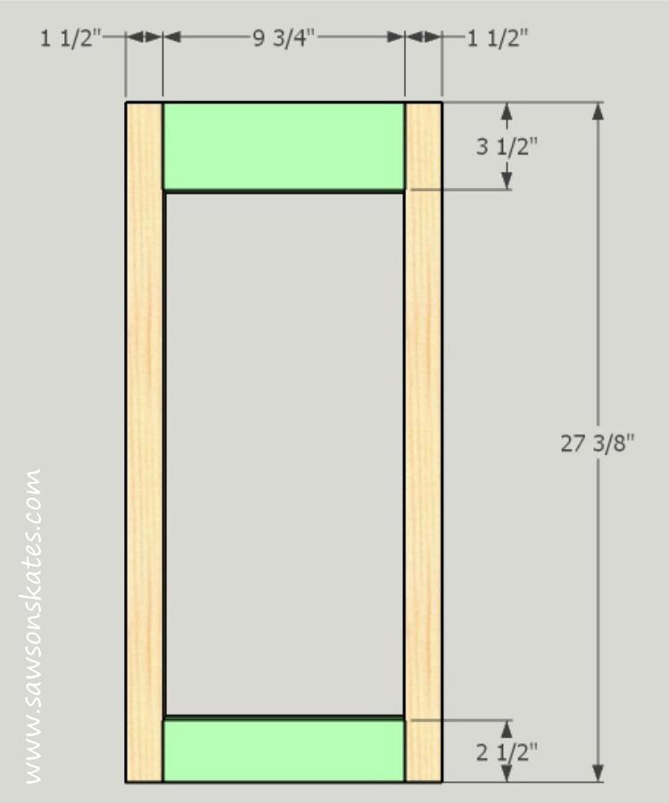 diy-kitty-litter-cabinet-side-sub-frame
