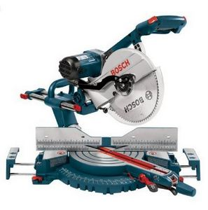 Bosch Compound Miter Saw - 48 Most Wanted Tools and Products Gift Guide for the DIYer - sawsonskates.com