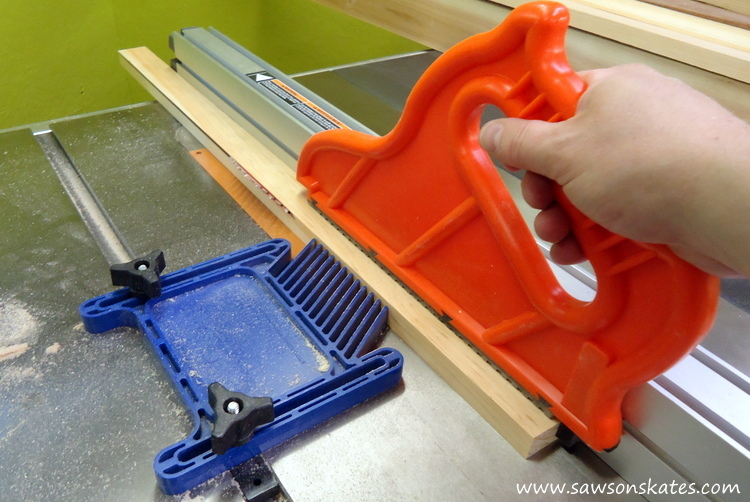 DIY Corner Cabinet - cut the corners
