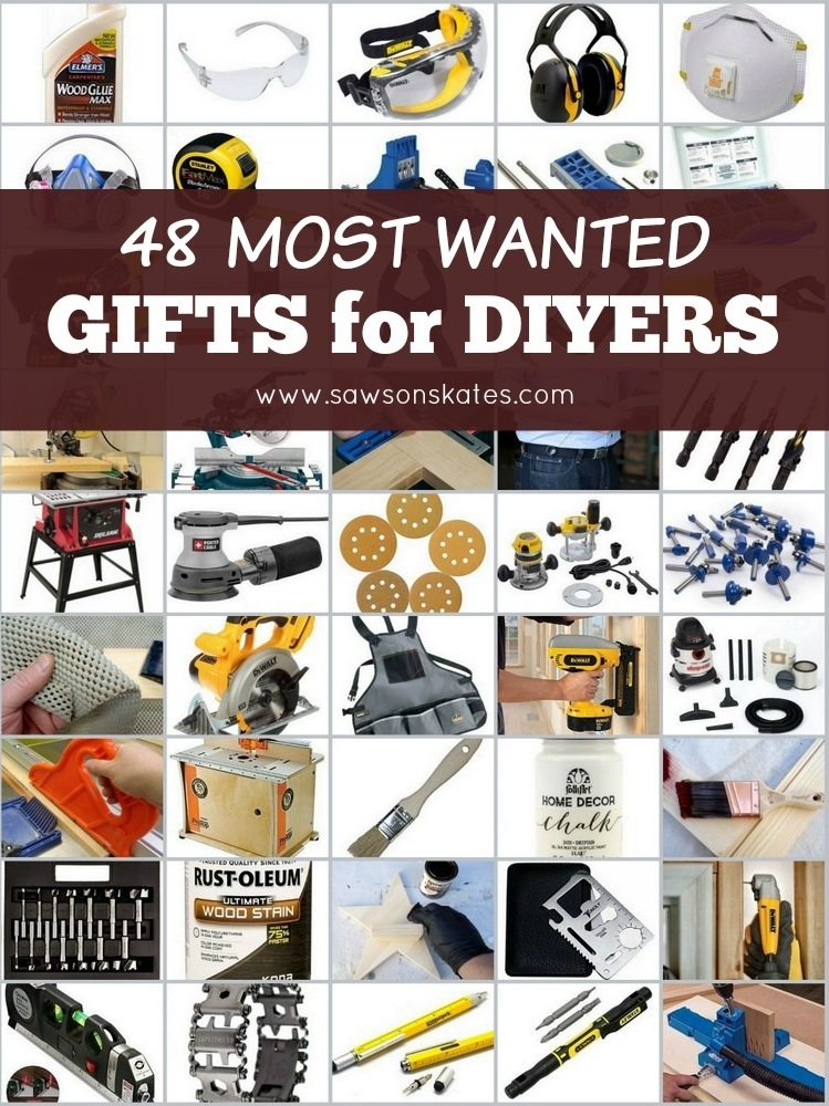 Looking for gifts for the DIYer on your list? This