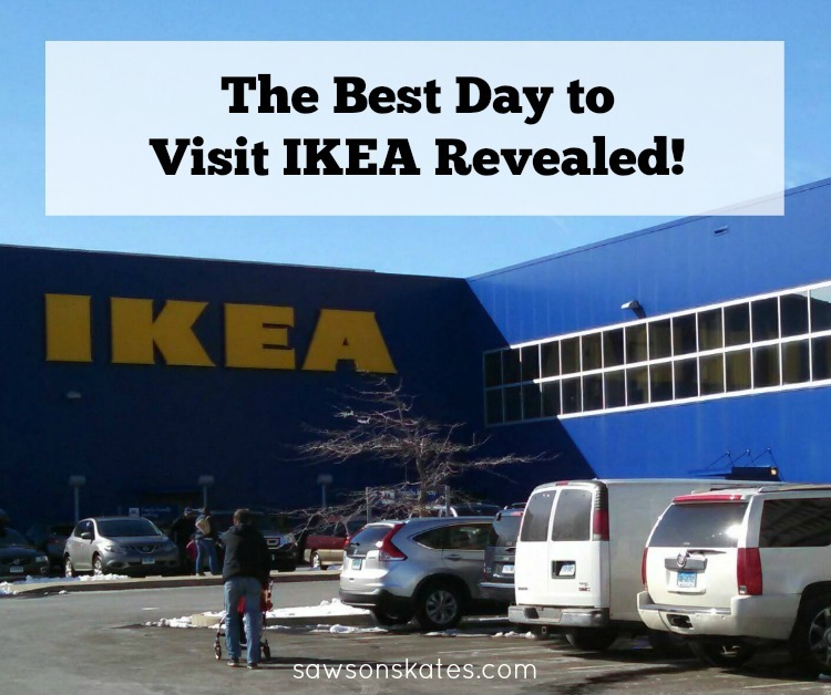 You know IKEA has some great kitchen, bedroom and living room ideas. And you love an IKEA hack, but what's the best day to visit IKEA?