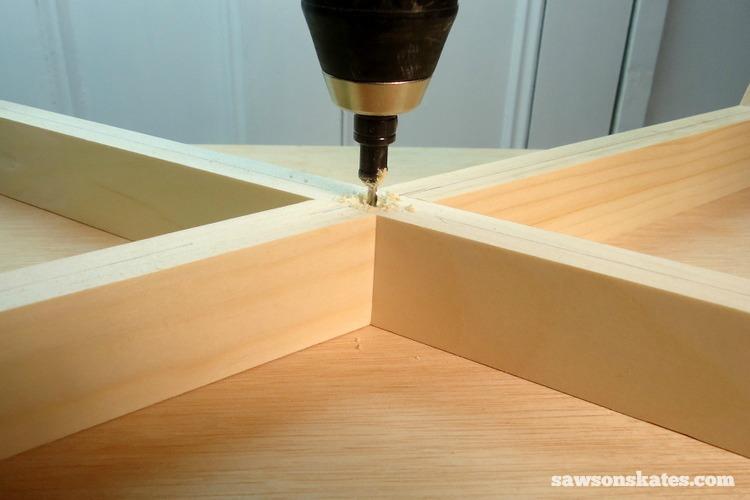 DIY Mid-Century Modern Nightstand - legs 2