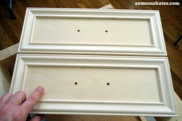 Why I Only Use THIS Wood Glue for my DIY Furniture - Book-Matched Drawer before stain