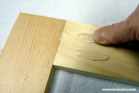 Rookies Guide to Building DIY Furniture - Plug cutter makes pocket holes virtually disappear
