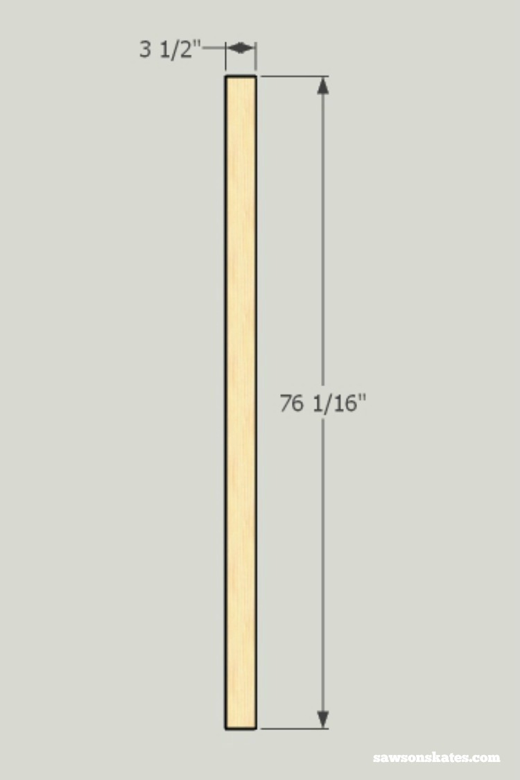 Looking for screen door ideas? Build your own wooden DIY screen door with these plans - cut the stiles