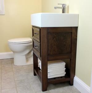 Small Size Big Style Diy Bathroom Vanity