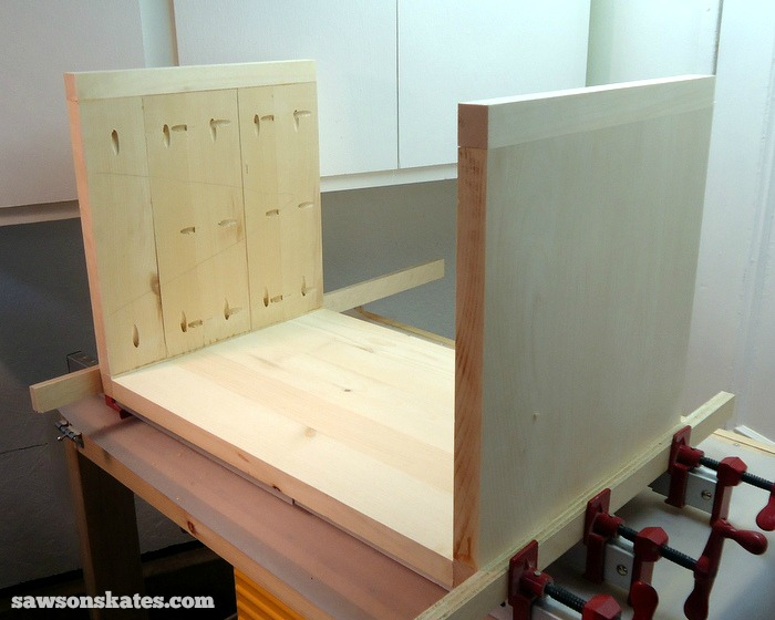 Assemble the Retro Nightstand Carcass