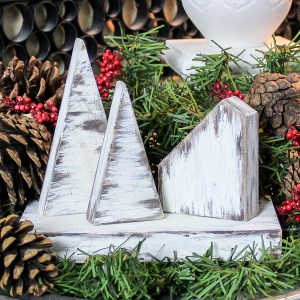 Rustic DIY Christmas Village – Half-Hour Holiday Challenge