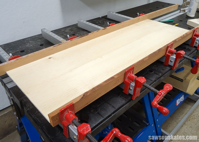 Make a Door with Pocket Holes - make the panels