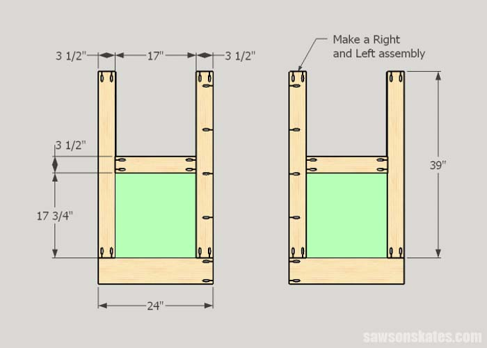 How to build the entry wall window area for the homemade truck camper