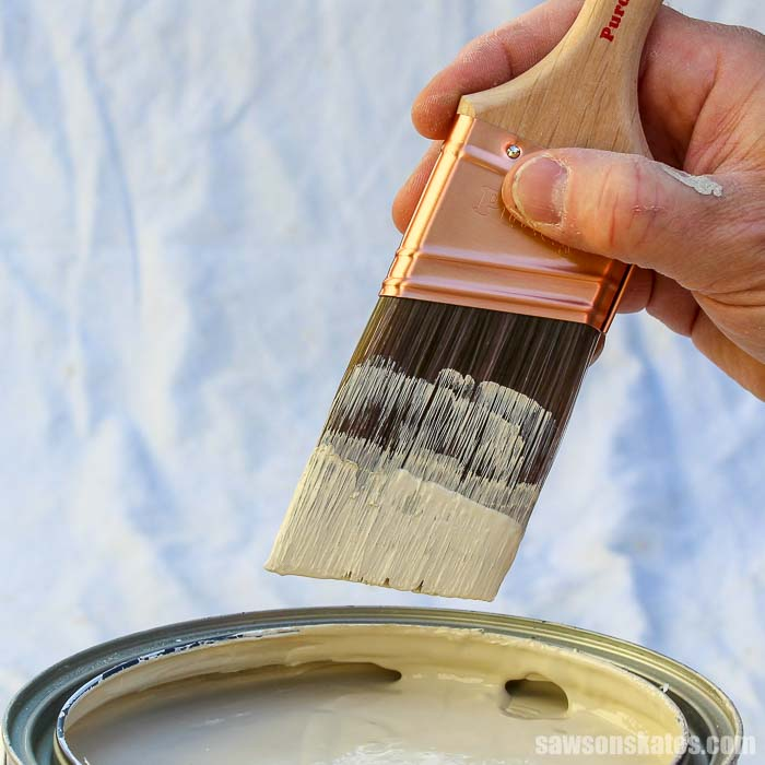 My grandpa taught me the best way to clean paint brushes! Now I'm sharing his proven tips for effortlessly washing latex paint off paint brushes with you.