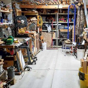 9 Clever Ways to Make Your Small Workshop Feel Bigger