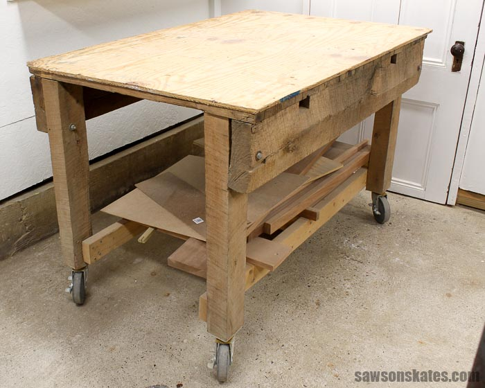 Ultimate Workbench for a Small Workshop - my old workbench was old, tired and big